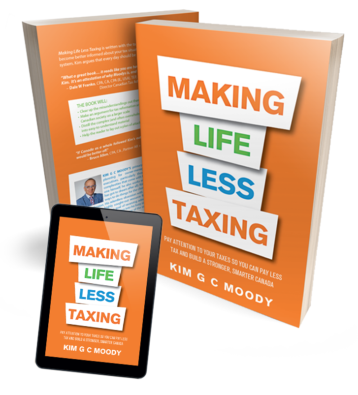 Making Life Less Taxing Book - Kim G C Moody